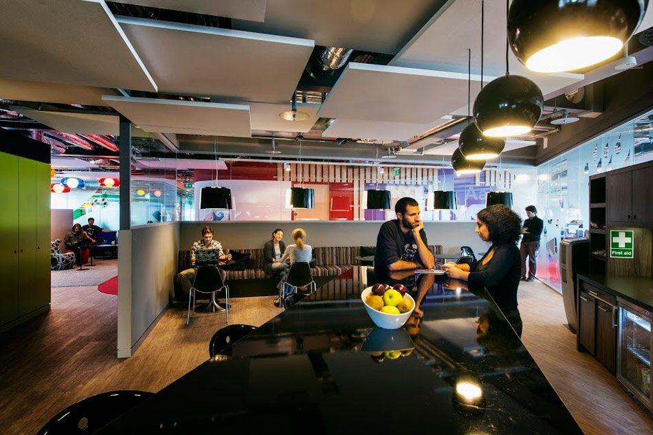 Googles Stunning Dublin Campus Officelovin
