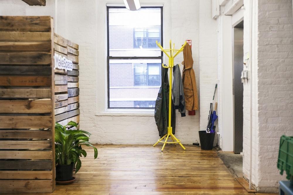 Home Group Tyneside Foyer : Makespace s new york city office officelovin