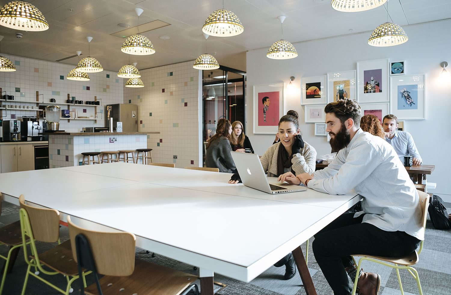 WeWork – London's South Bank Area