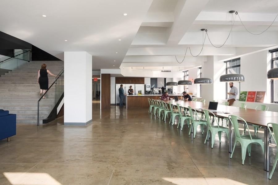 advertising agency office design. Droga5, Advertising Agency Offices Kitchen\u2026 Office Design