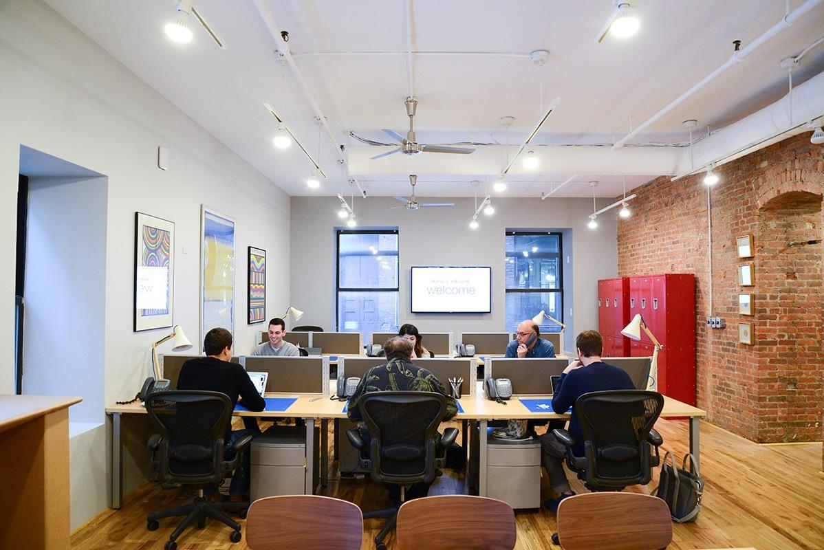Inside Drury Design Dynamics Nyc Offices Officelovin 39