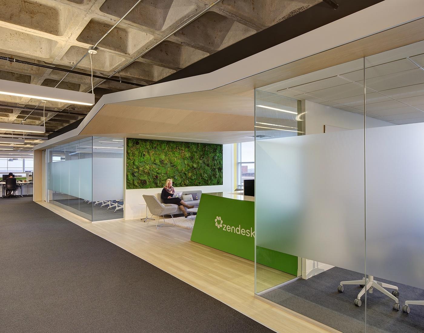 A Peek Inside Zendesk S New Madison Offices Officelovin