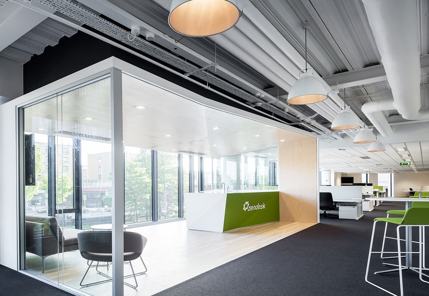 Take a Look at Zendesks Dublin Offices Officelovin