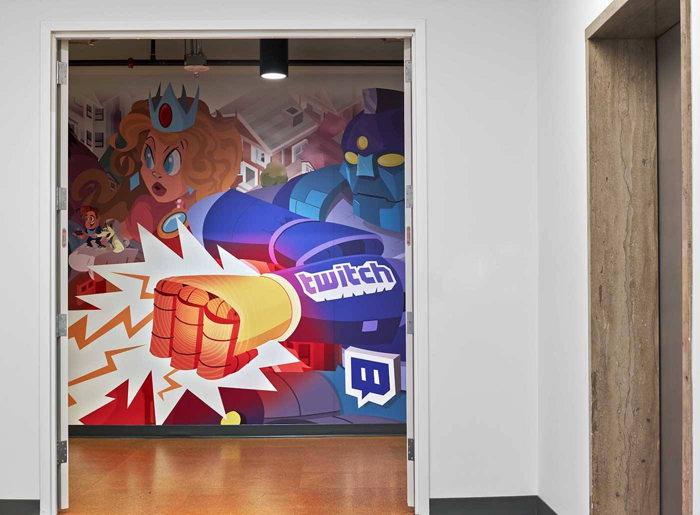 Inside Twitch's Cool San Francisco Headquarters
