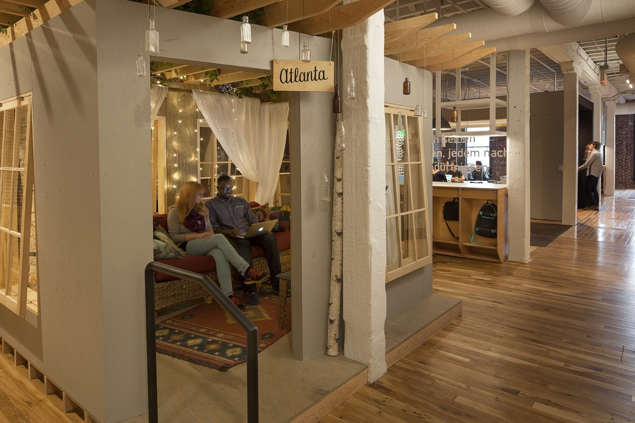 Let S Explore Airbnb S New Portland Office Officelovin