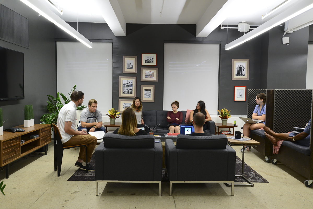 Take A Tour Of Newscred S Cool New York City Office