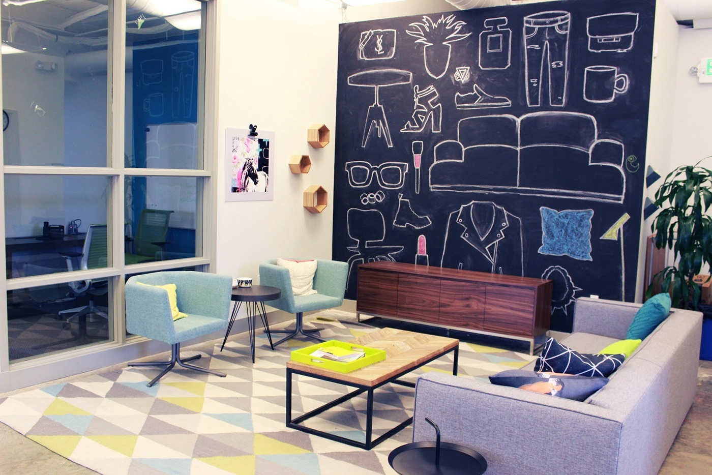 An Exclusive Look Inside Polyvore's Mountain View Headquarters