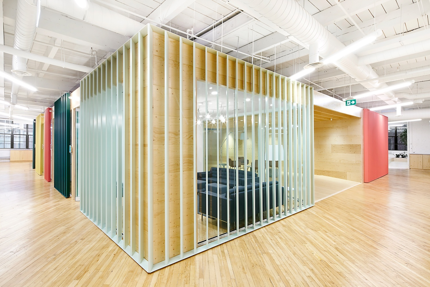 office interior design toronto linkedin there are louvers all over the place to allow light come in inside shopifys gorgeous toronto office officelovin