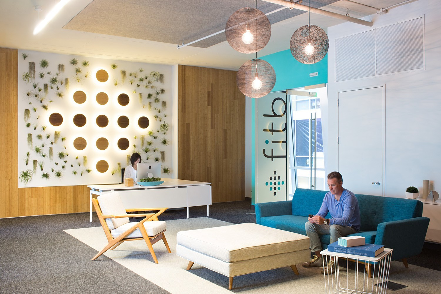 An Exclusive Look Inside Fitbit's Cool San Francisco Office