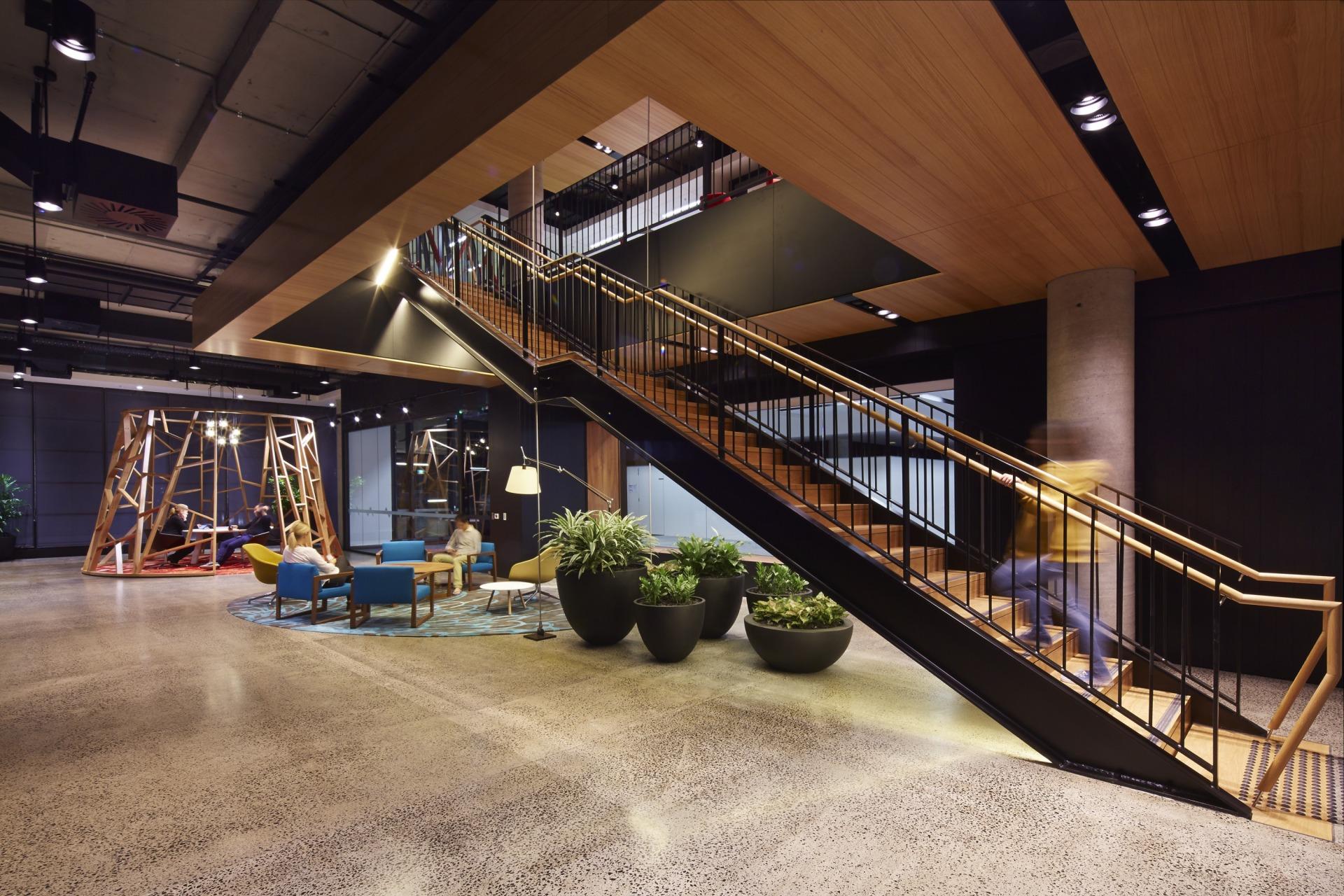 A Look Inside Fujitsu's Gorgeous Sydney Headquarters