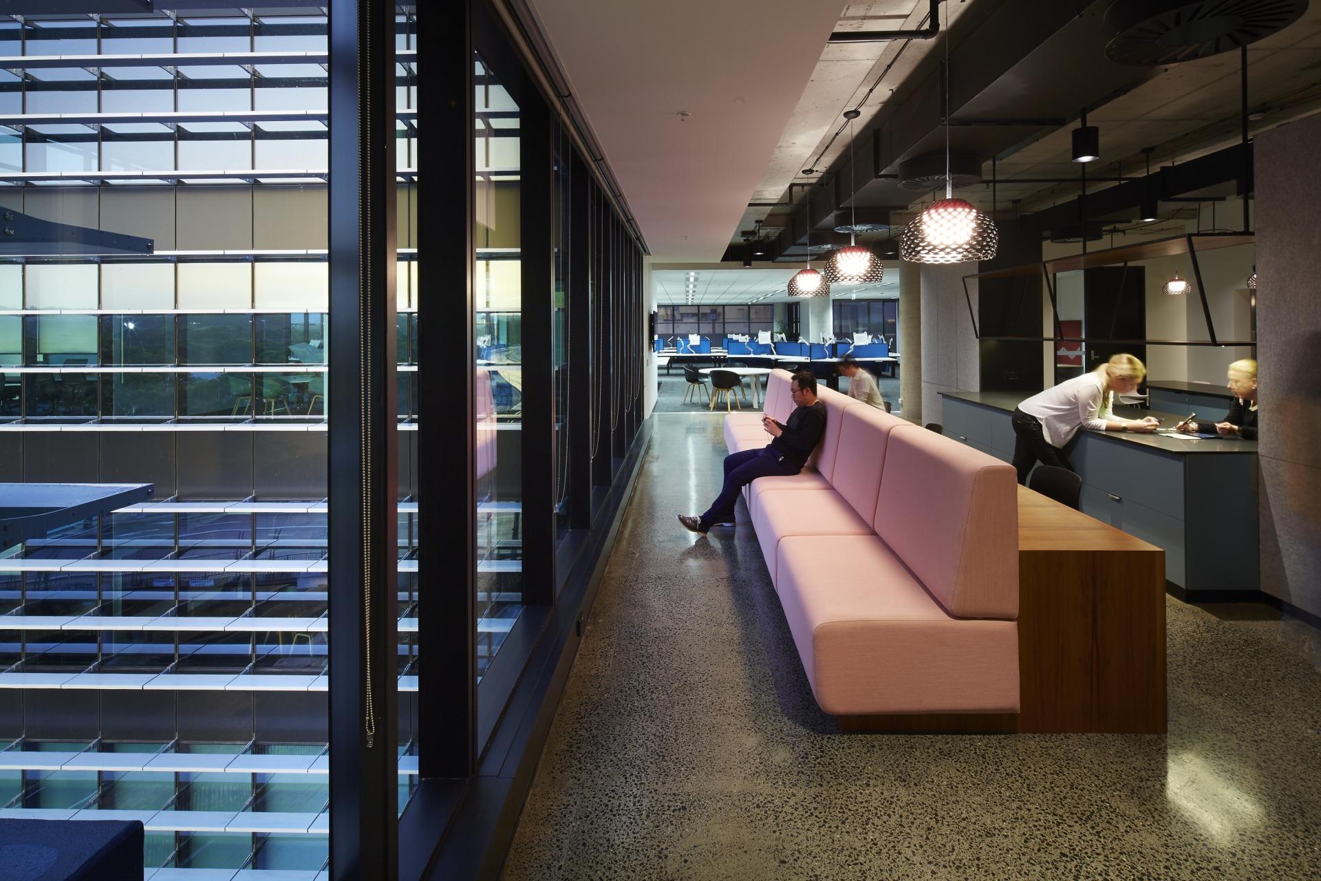 office design sydney. Fujitsu-sydney-office-2 Office Design Sydney E