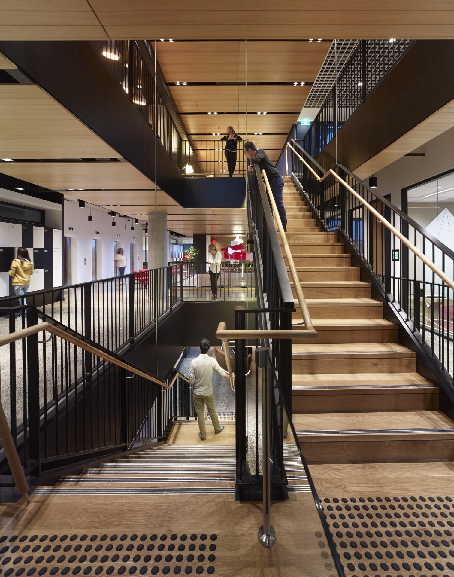 A look inside fujitsu s gorgeous sydney headquarters