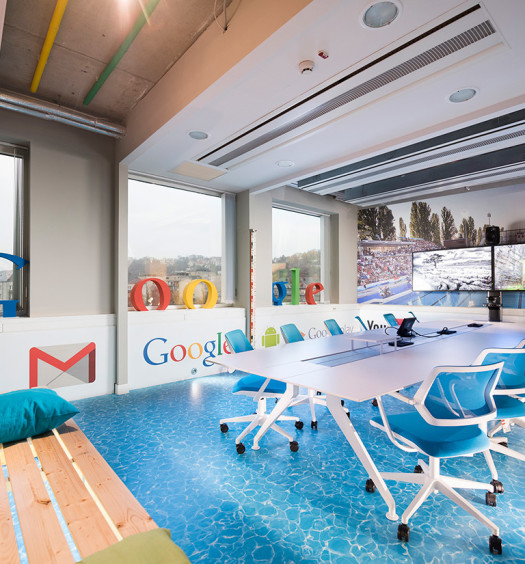 Google Office Irvine 1: Take A Tour Of Google's Chic Irvine Office