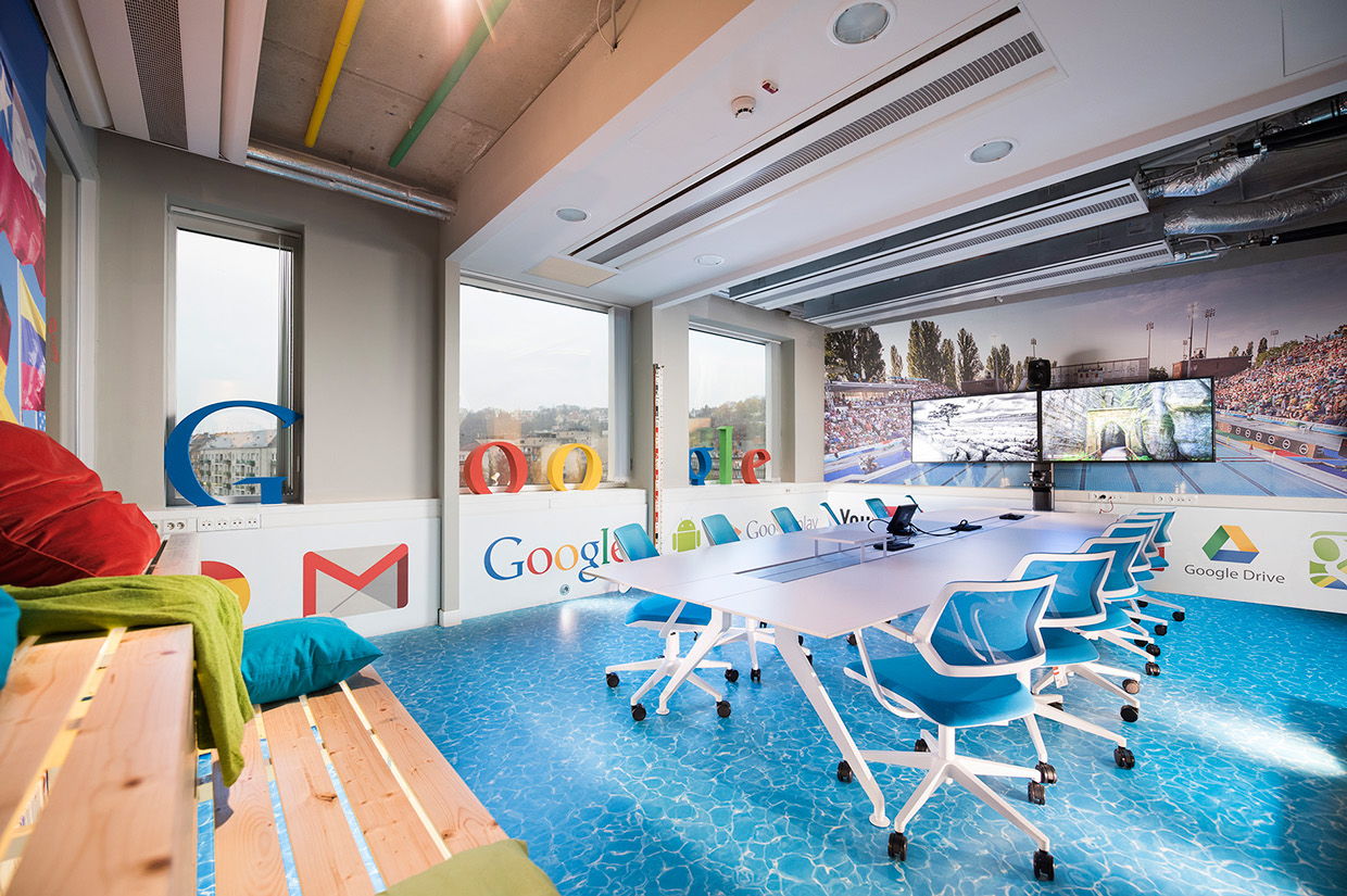 Inside google s amazing budapest office officelovin 39 for Design apartment 2 budapest