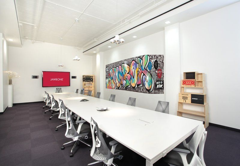 A Peek Inside Jawbone's San Francisco Headquarters