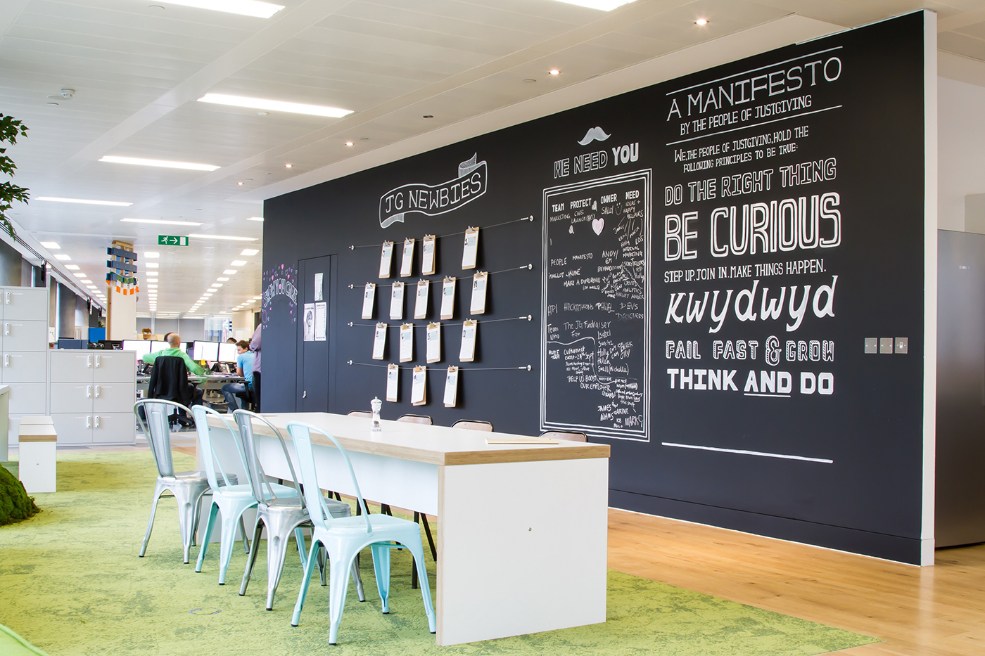 Inside JustGiving's London Office - Officelovin'