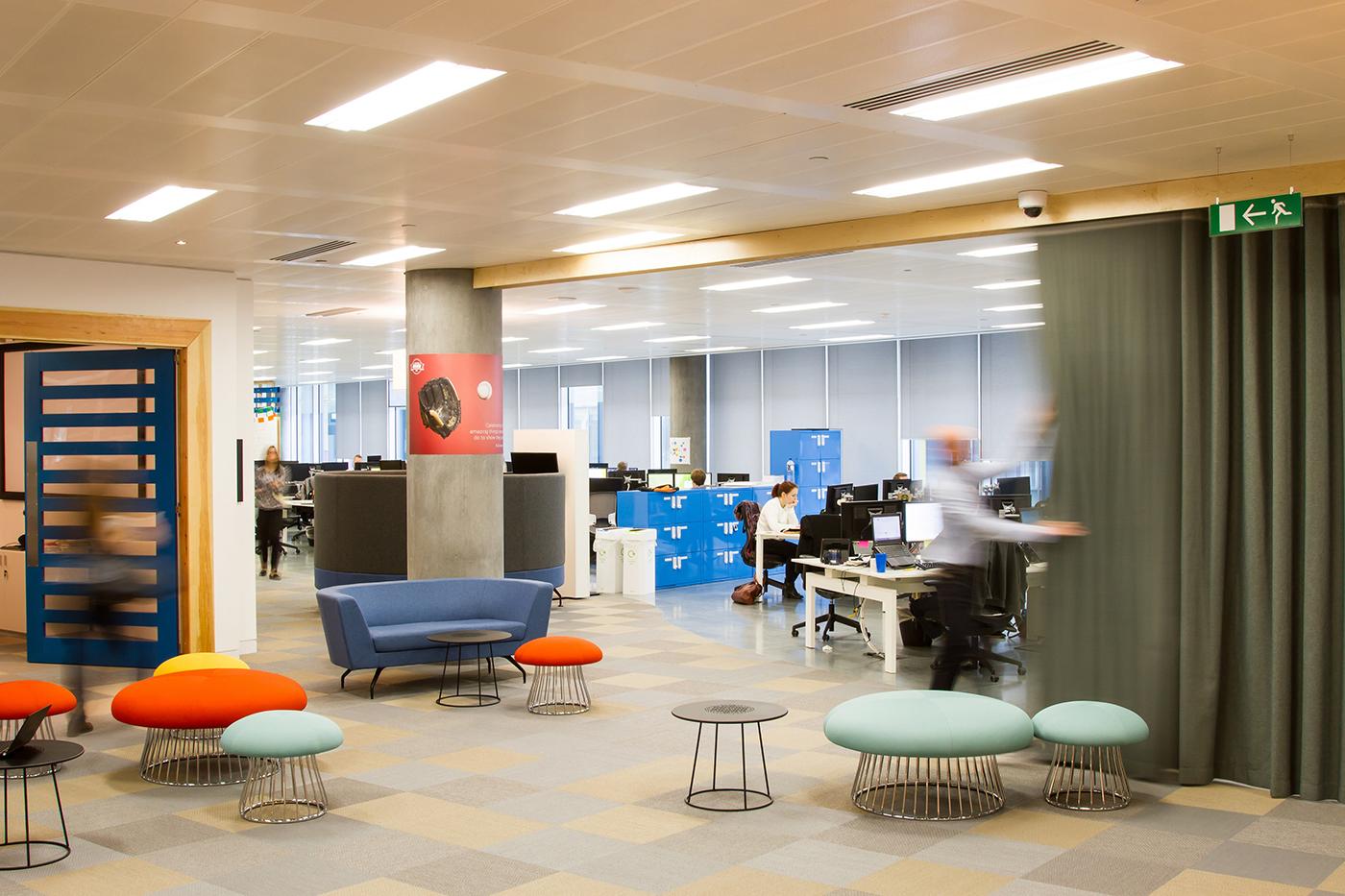 Inside justgiving s london office officelovin