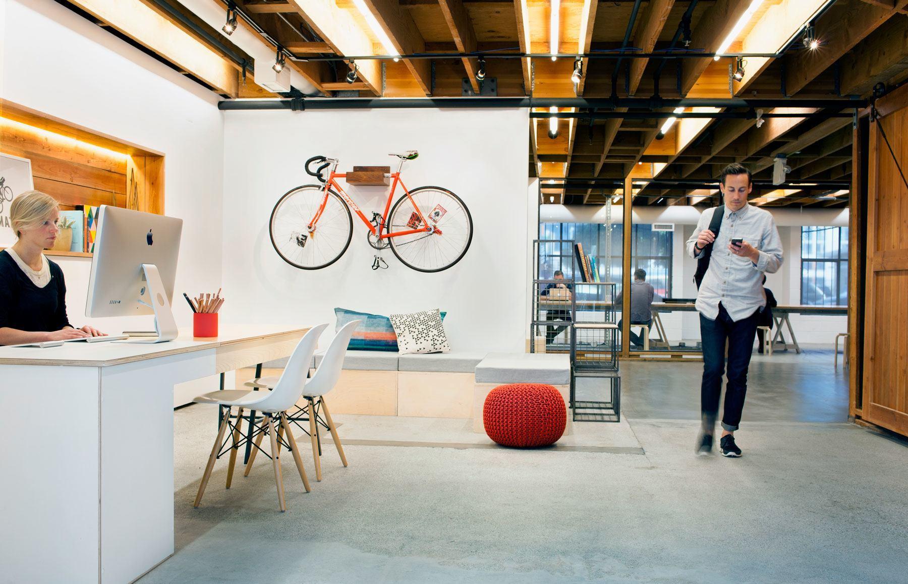 Take a Tour of Postmates' Beautiful San Francisco Office