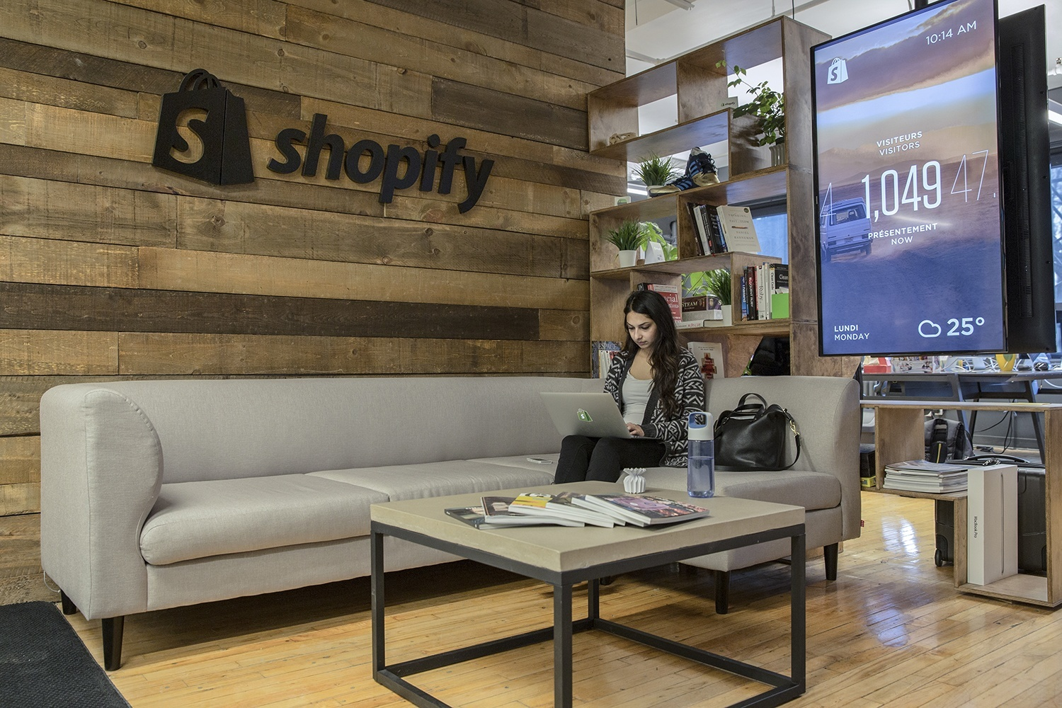 An Exclusive Look Inside Shopify's Cool Montreal Office
