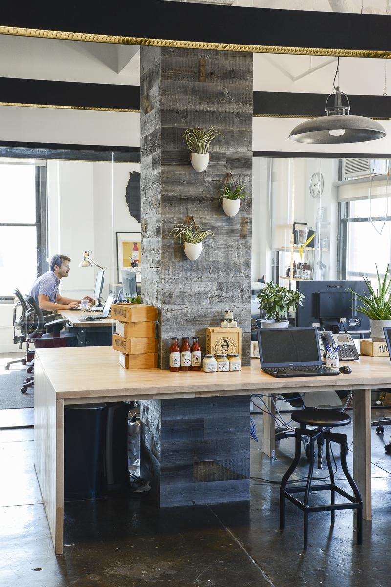 A Peek Inside Sir Kensington's Chic New York City Office ...