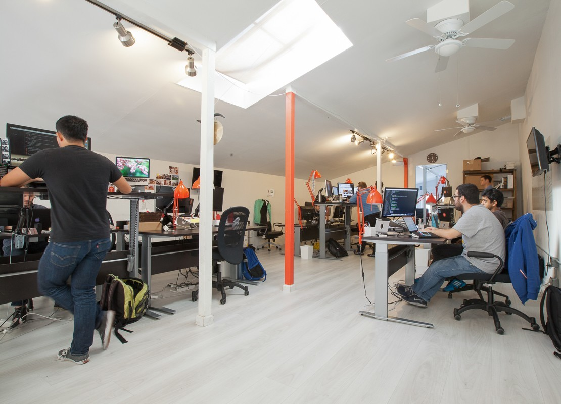 A Look Inside Tint S Cool San Francisco Office Officelovin