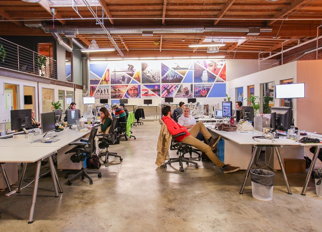 Take a Look at Twenty20's Cool Los Angeles Office