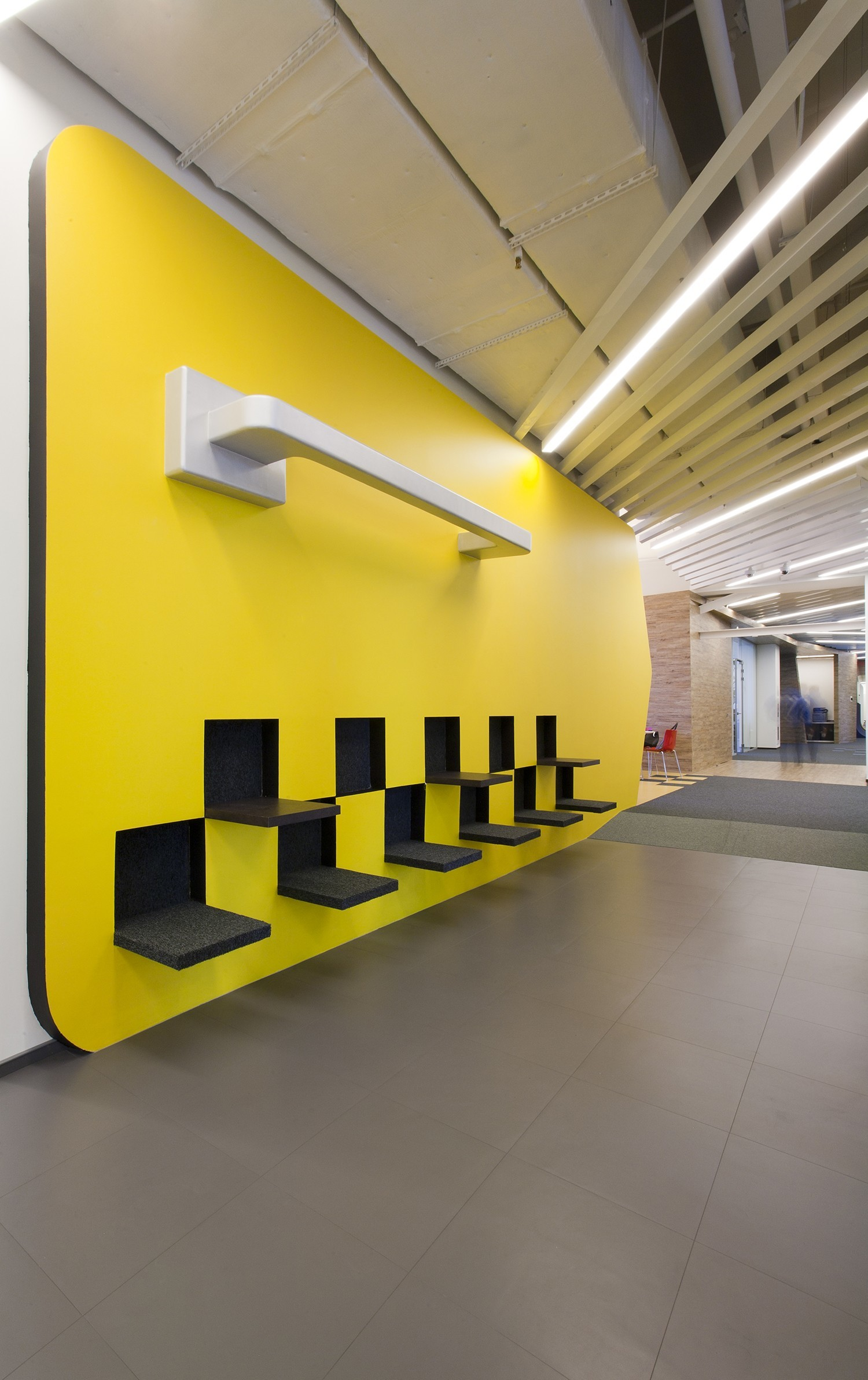 A Peek Inside Yandex S New Saint Petersburg Office