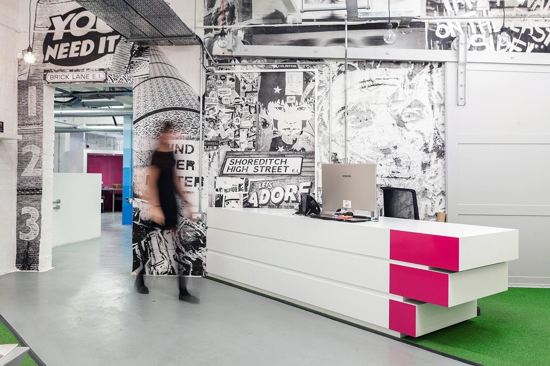 Inside Fetch's Chic London Office