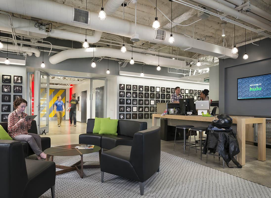 Atlanta Kitchen Designers A Peek Inside Hulu S Santa Monica Office Officelovin