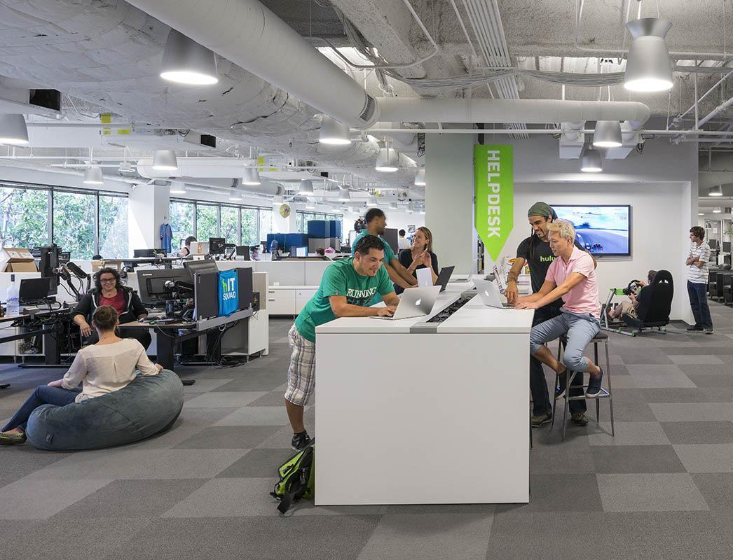 a peek inside hulu�s santa monica office officelovin
