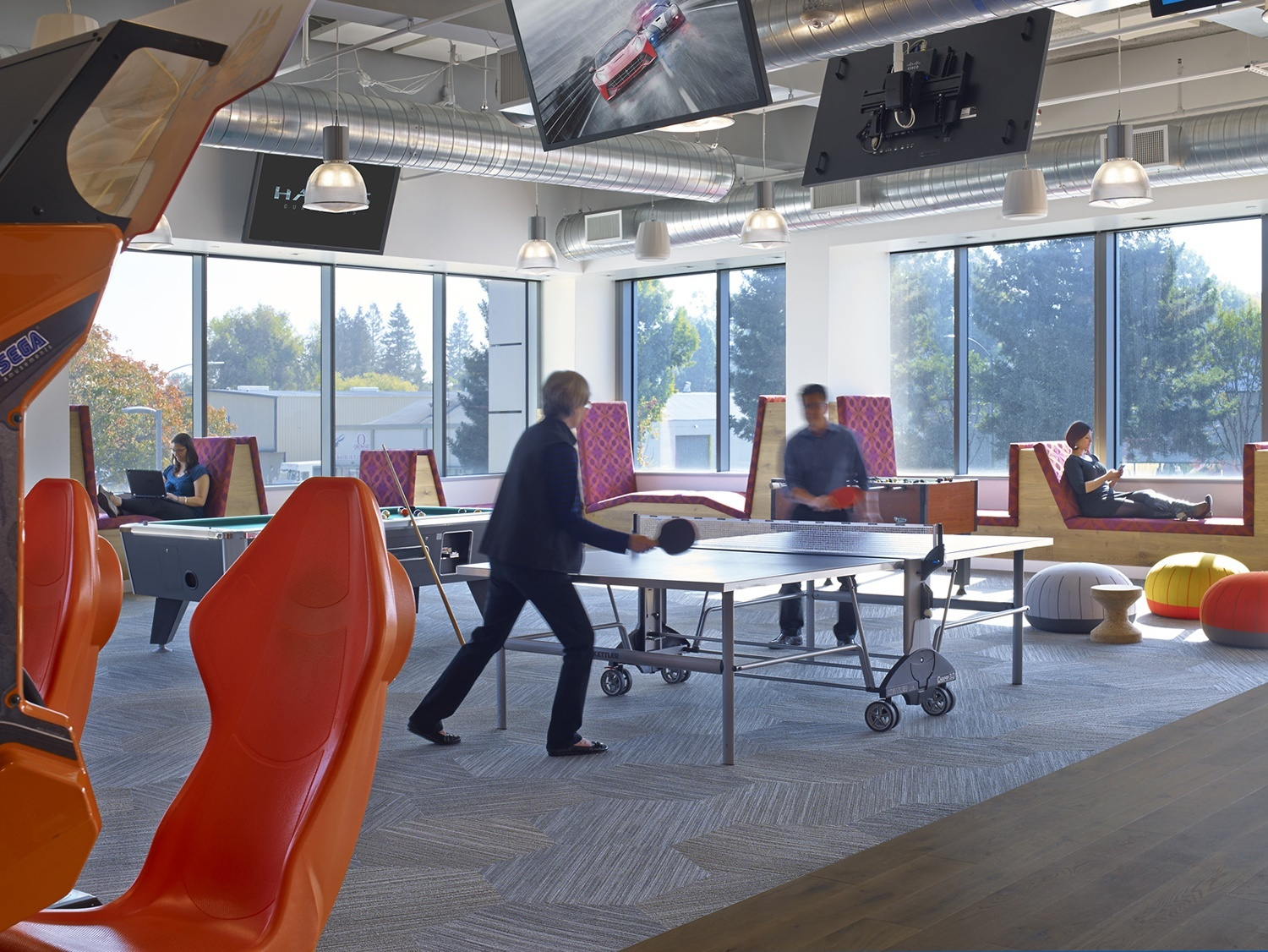 Take a Look at LinkedIn\'s New Sunnyvale Office - Officelovin\'