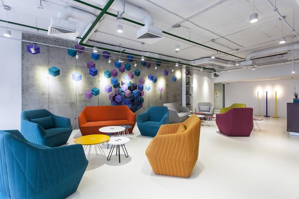 A look inside playtech s stylish kiev office officelovin 39 for Office design program