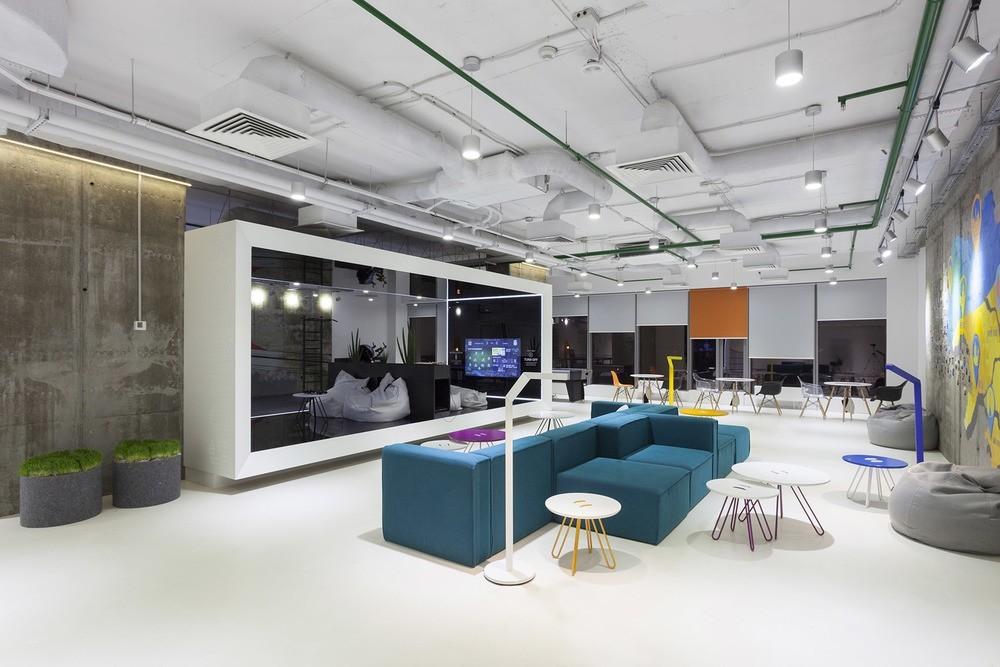 Artis Design Group : A look inside playtech s stylish kiev office officelovin