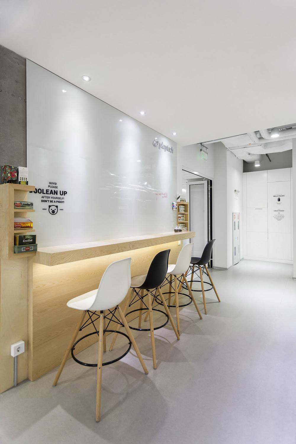 Kitchen Room Interior Design: A Look Inside Playtech's Stylish Kiev Office