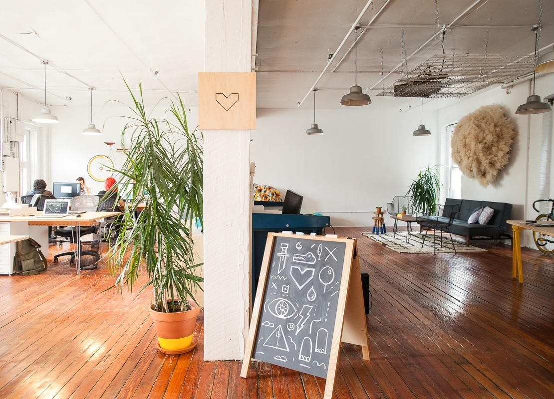 Inside Red Paper Heart's Gorgeous Brooklyn Office