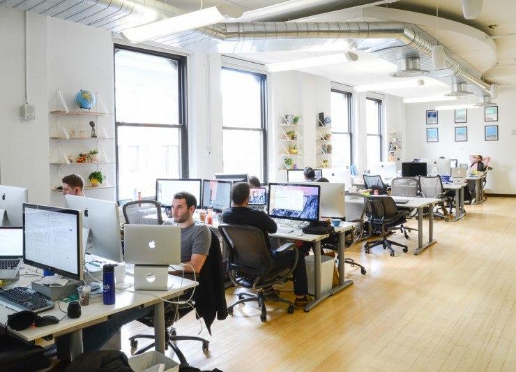 A peek inside seatgeek s new york city office officelovin - Bureau style new york ...