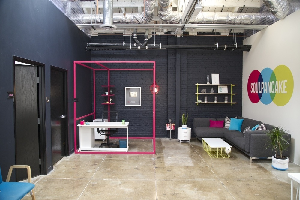 Take a tour of soulpancake s cool los angeles office for Innovation firm los angeles