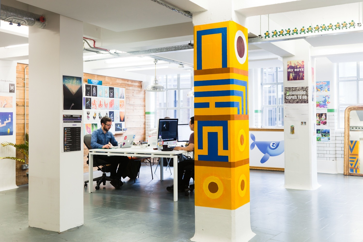 A Look Inside Ustwo Games' London Office
