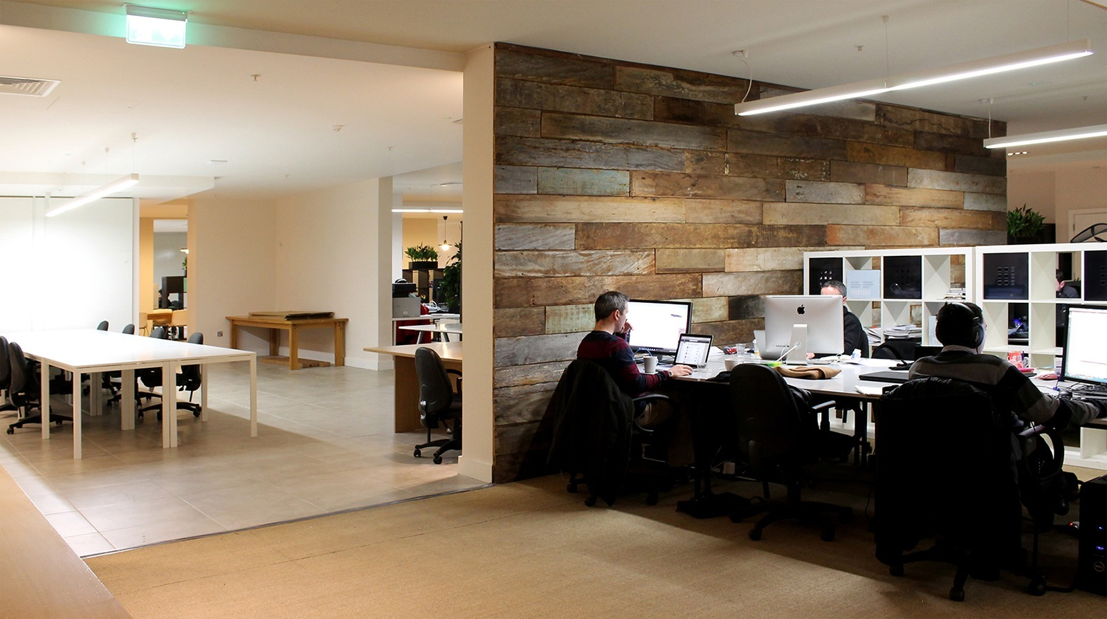 Take a tour of dogpatch labs tech coworking space in for Office working area design