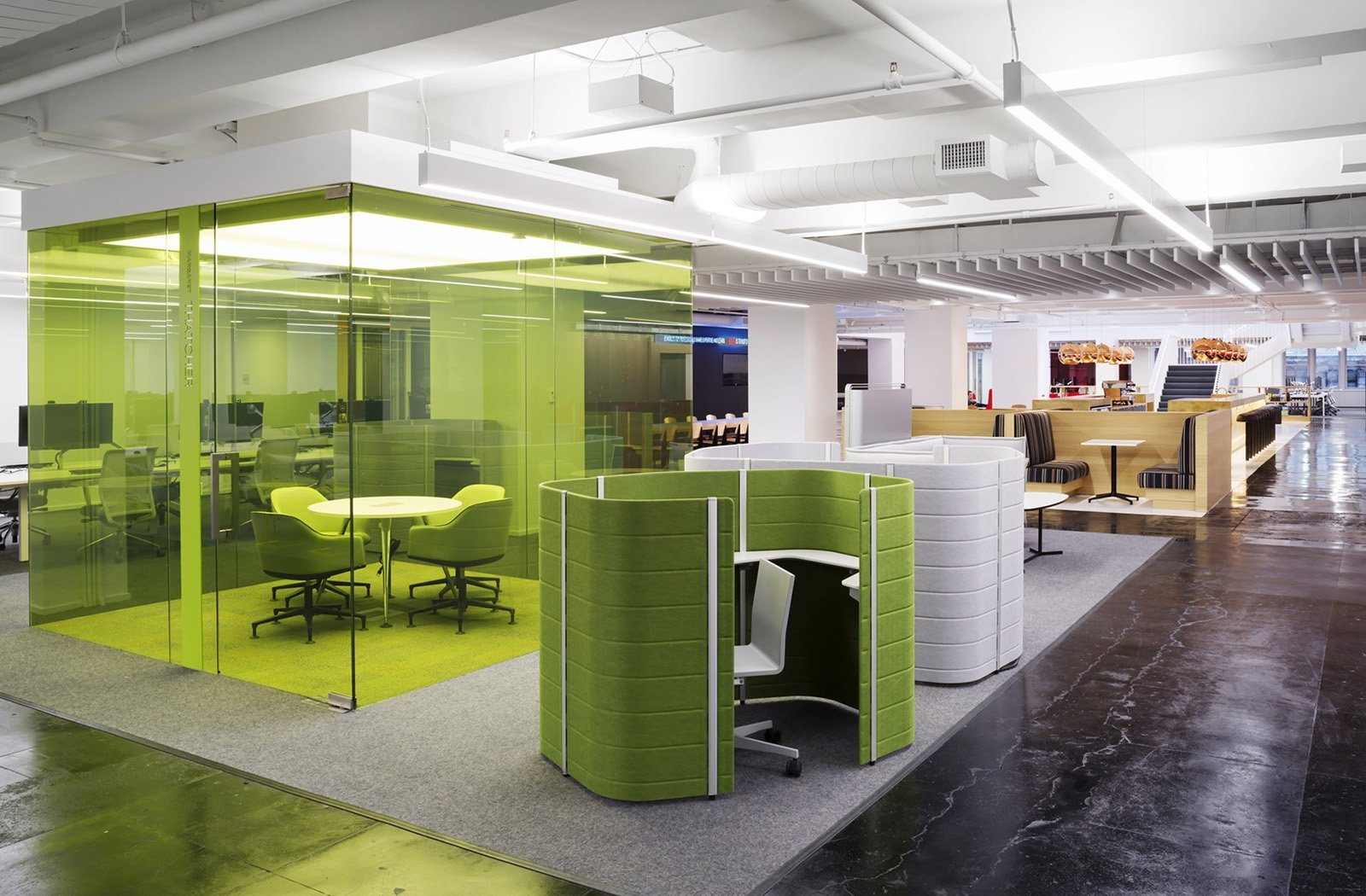 Take a tour of glg s awesome headquarters in new york city for Office interior design nyc