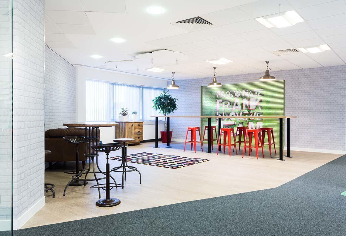 Take A Look At Just Eats Playful Borehamwood Headquarters