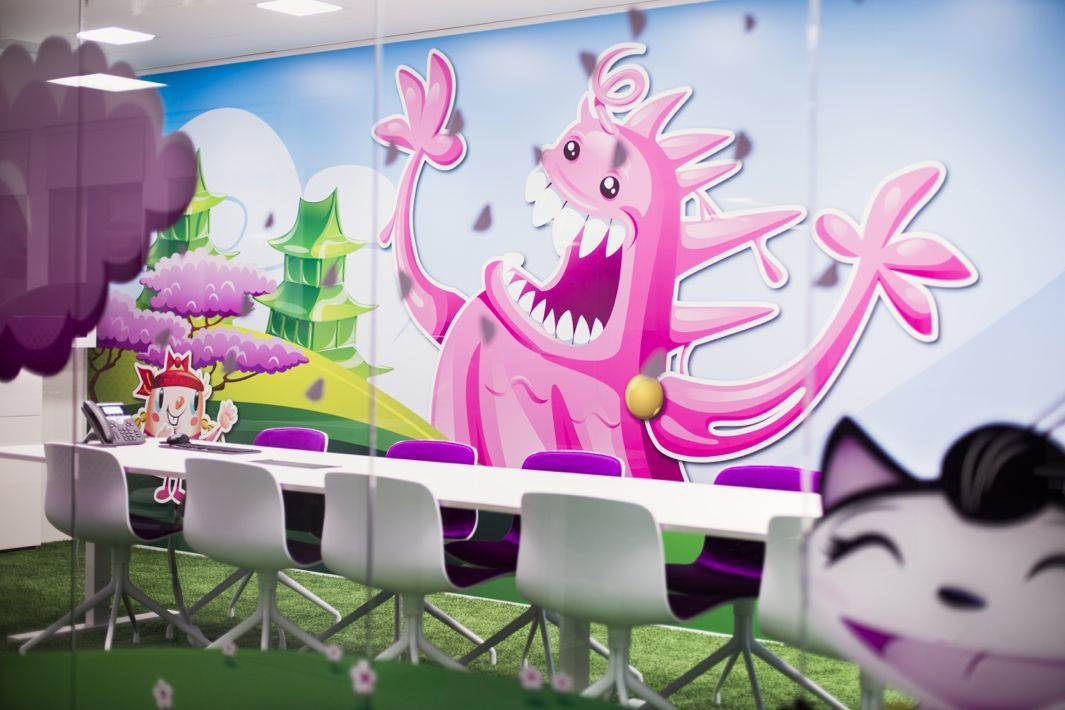 Inside Candy Crush Saga's Playful Stockholm Office
