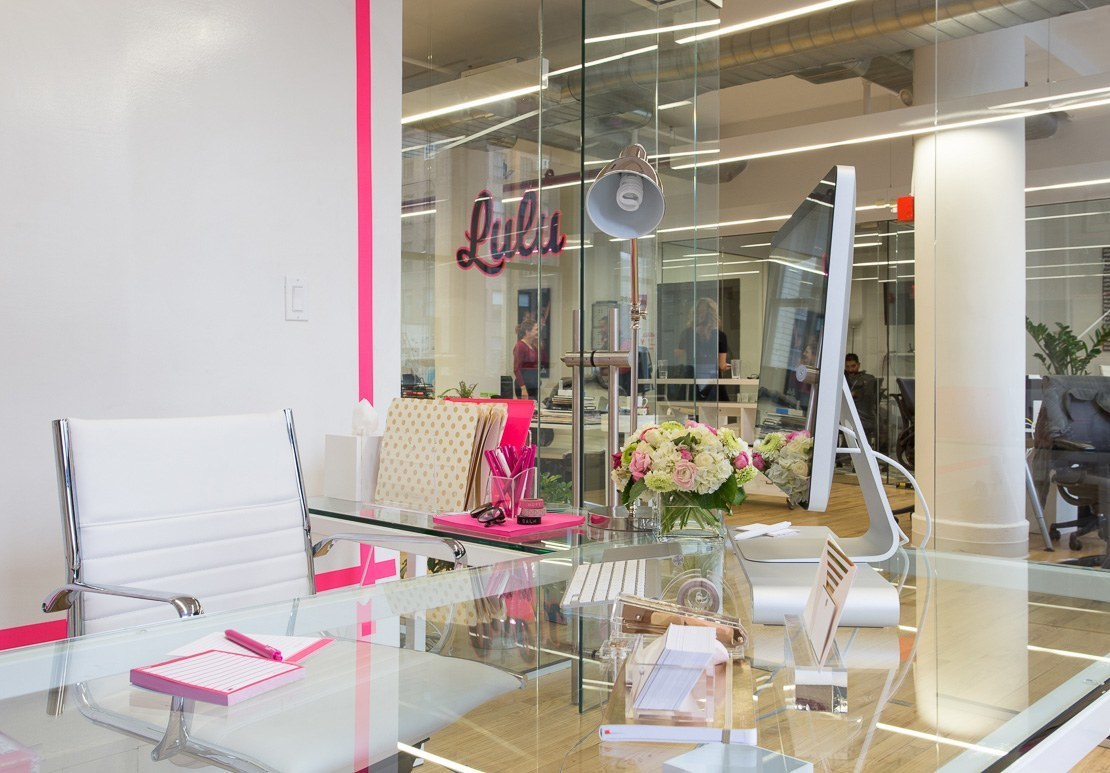 A Look Inside Lulu's Chic New York City Office