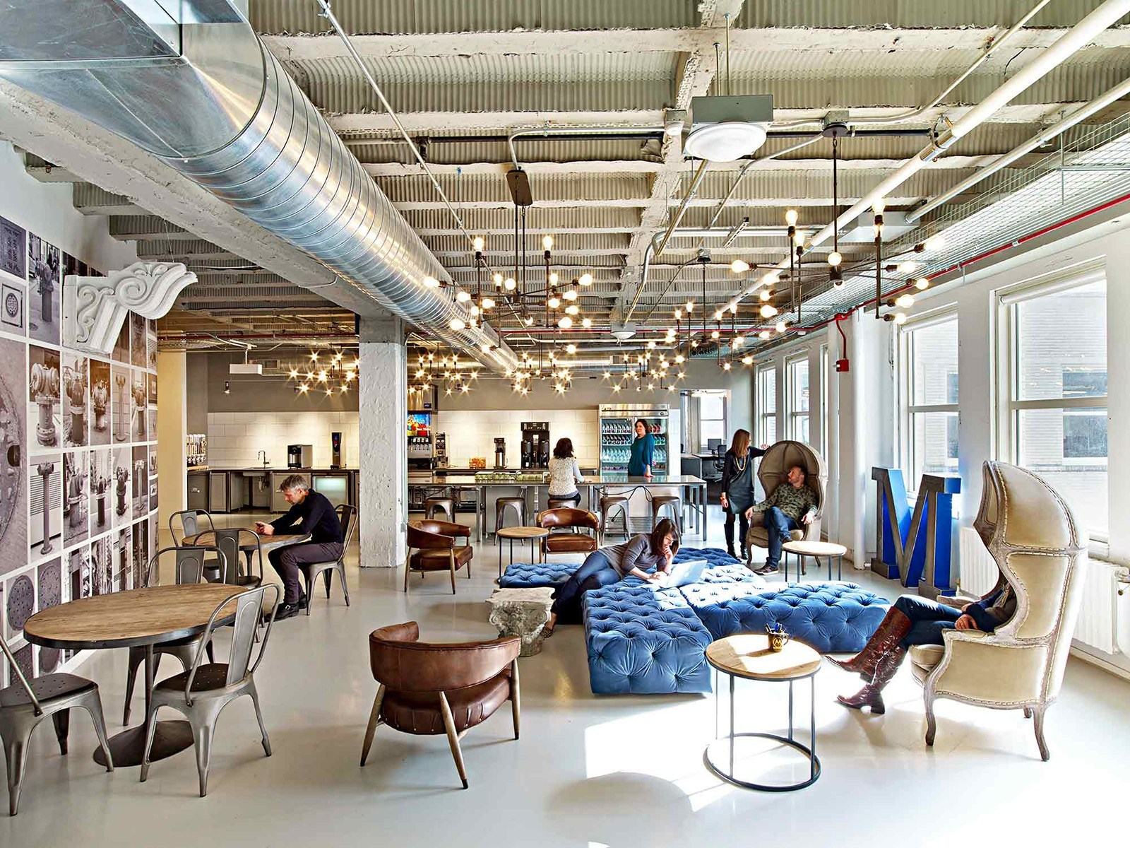Take a tour of motorola mobility s gorgeous chicago for Office space design companies