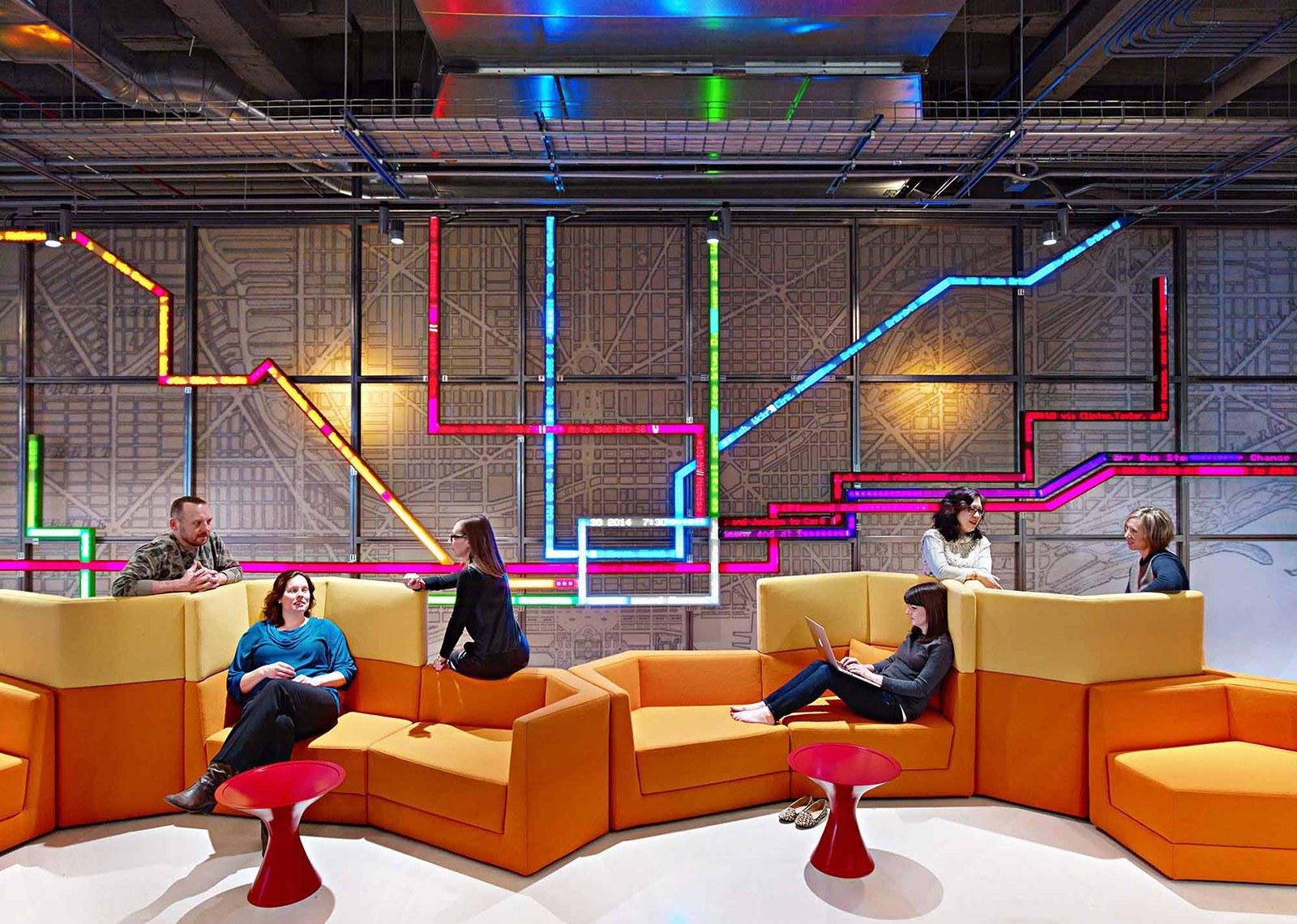 Take a Tour of Motorola Mobility's Gorgeous Chicago Headquarters