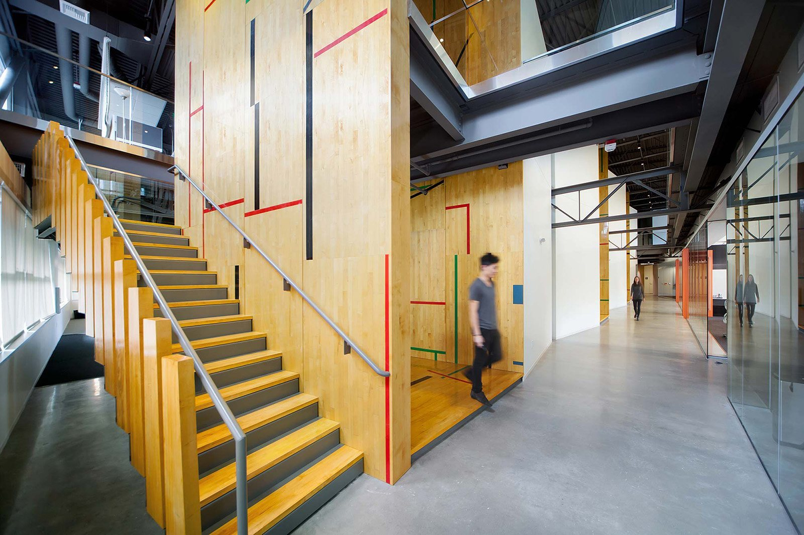 take a look at tableau software s modern seattle office. Black Bedroom Furniture Sets. Home Design Ideas