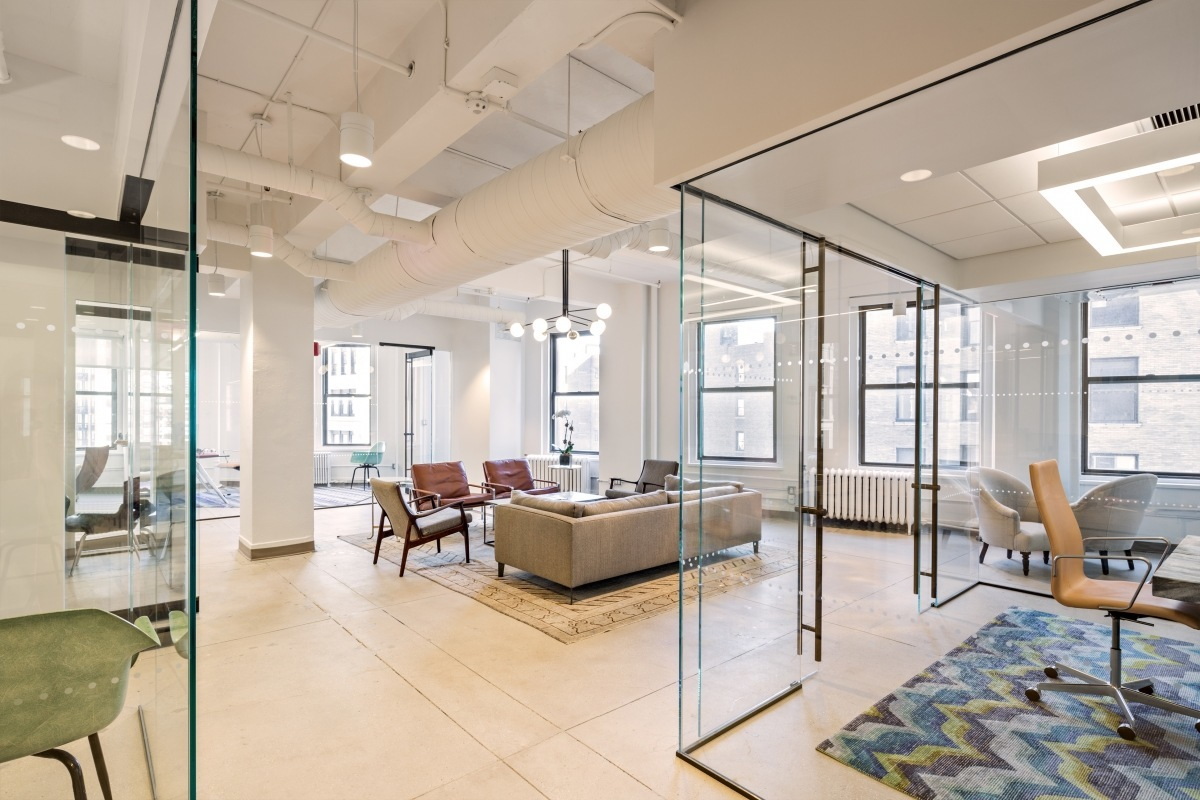 A look inside valar ventures new york city office for Office interior design nyc