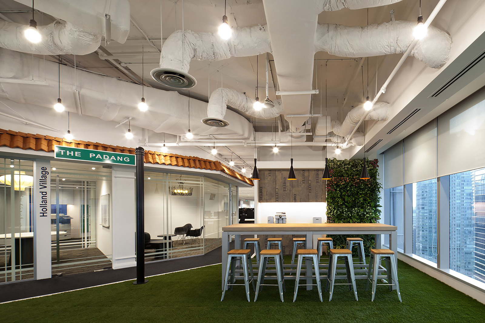 A tour of gorgeous singapore office for Booking hotel