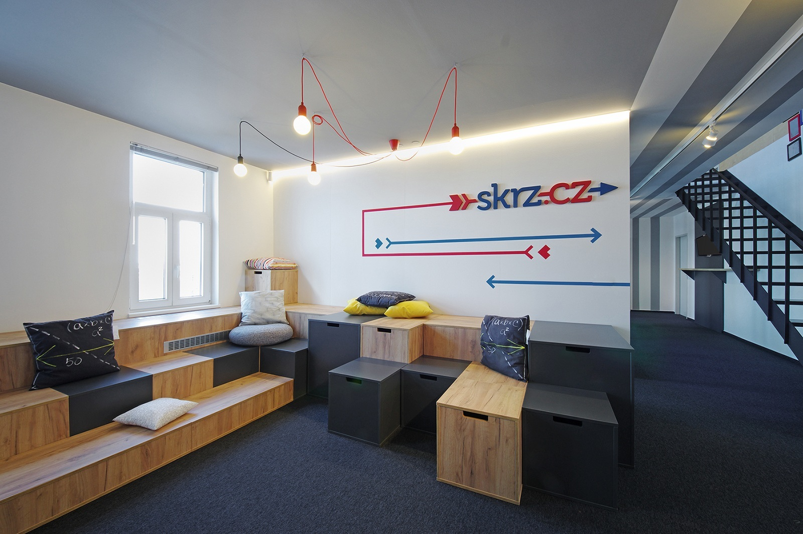 A Look Inside the New Headquarters of Skrz in Prague