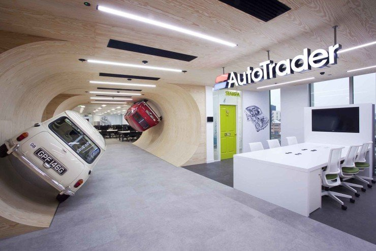 A Look Inside Autotrader's Cool London Office - Officelovin